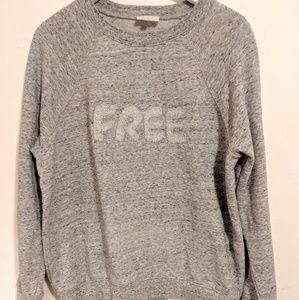 WILFRED Sweatshirt . Cotton ouaté gris